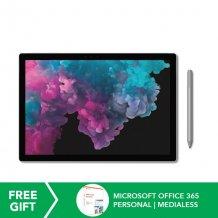 Microsoft Surface Pro 6 i5/8GB RAM + 256GB ROM (Platinum) MS-MIC-KJT-00012 ([Pre-Order)