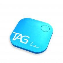 TAG La V1 Bluetooth Tracker Item Finder Anti Lost Alarm for Security + Selfie Remote (Blue)