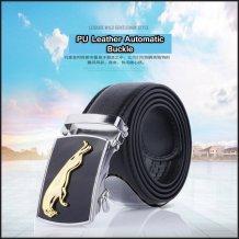 PU Leather Automatic Buckle Men's Belt
