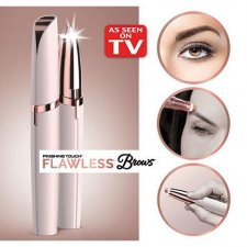 Flawless brow painless LED eyebrow brow trimmer finishing hair remover