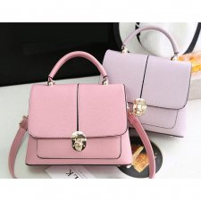 Korean Fashion Women Lady PU Leather Top Handle Shoulder Hand Bag (6 colors)