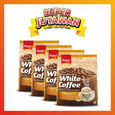 SUPER CHARCOAL ROASTED WHITE COFFEE BROWN SUGAR (4 PACKS)