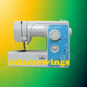 BROTHER® JS1410 Portable Home Sewing Machine