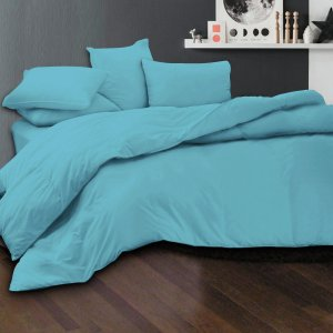 Essina Candies Turquoise 100% Cotton Fitted Bedsheet set