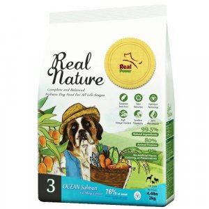 Real Nature Holistic Dry Dog Food-NO.3 Ocean Salmon【Real Nature】天然狗粮三号海洋