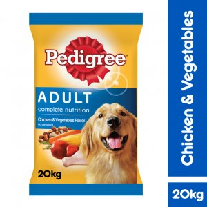 PEDIGREE Chicken & Vegetables Flavour, 20kg