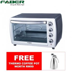 [FREE GIFT] Faber 36L Stainless Steel Electric Oven FORNO 36