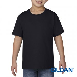 Gildan Premium Cotton Youth T-shirt - Black