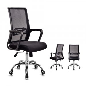 Fully Assembled 319 Swanky Magnífica: Medium Swivel Office Chair