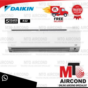 [R32/R410A] DAIKIN 2.5HP NON-INVERTER P SERIES Aircond Air Conditioner FTV60P /RV60C OR FTN25P/RN25