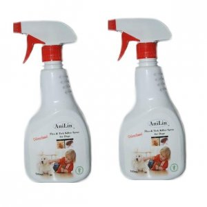AniLin Flea & Tick Killer Spray for Dogs (Twin Pack)