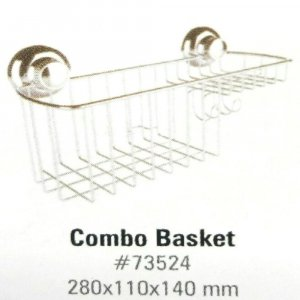 Stainless Steel Suction Combo Basket Suction-Fix VA73524-304