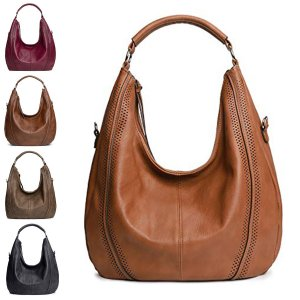New Fashion Women Ladies PU Leather Handbag Crossbody Shoulder Tote Bag Zipper