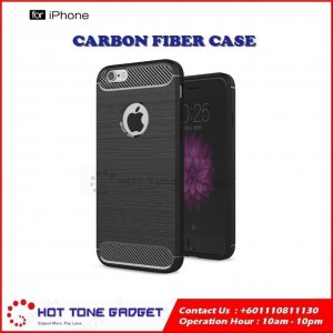 Iphone 5 6 7 6S 6Plus Rugged Brushed Tough Armor TPU Bumper Soft Cover