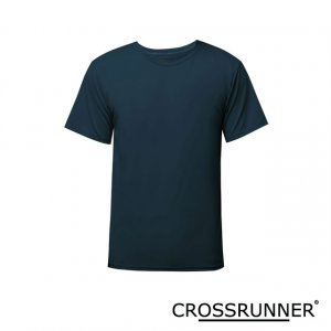 Men Crossrunner Performance Tee - Navy