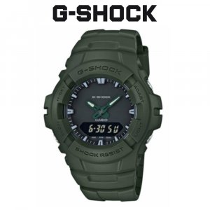 GShock Casio Analog-Digital Resin Band Watch (original) G-100CU-3A