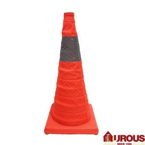 PVC Retractable Traffic Cone 30''
