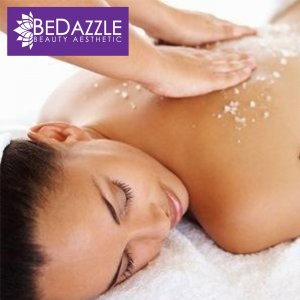 1-Hour Full Body Scrub with Peach Body Polish + Mask for 1 Person