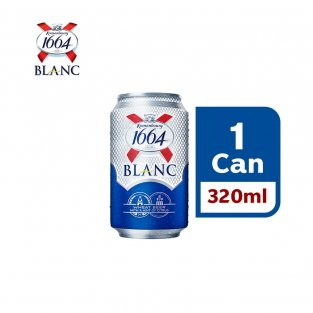 KRONENBOURG 1664 BLANC Beer (320 ml X 1 can)