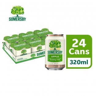 SOMERSBY Apple cider (6X Pack of 4 cans) 24 x 320 ml