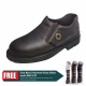 Black Hammer 4000 Series Low cut Slip on Safety Shoes (BH4659)