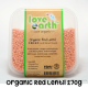 ORGANIC RED LENTIL 270G [LOVE EARTH]