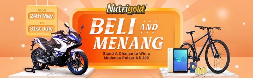 Nutrigold Beli & Menang