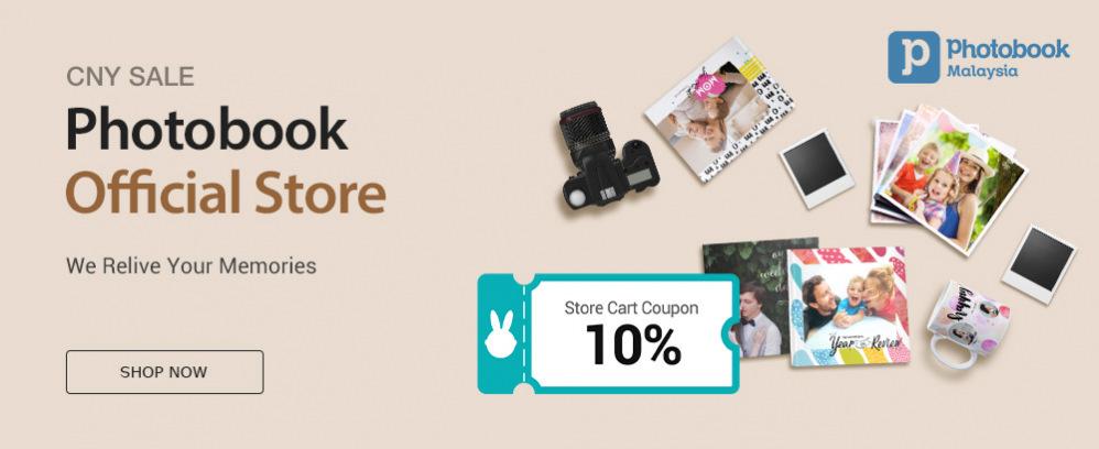 Photobook CNY Sale 10%