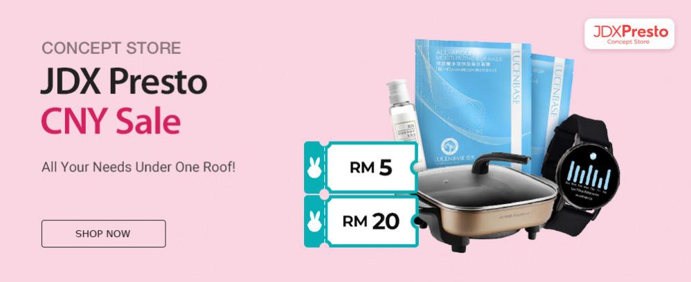JDX Presto Concept Store CNY Sale