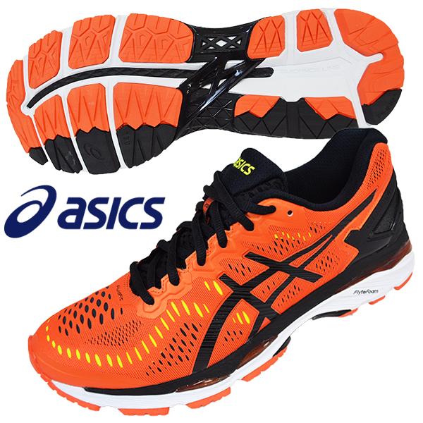 promo code 82c05 88269 Latest 2016 Asics Gel Kayano 23 Men Marathon Running Shoe Flame Orange