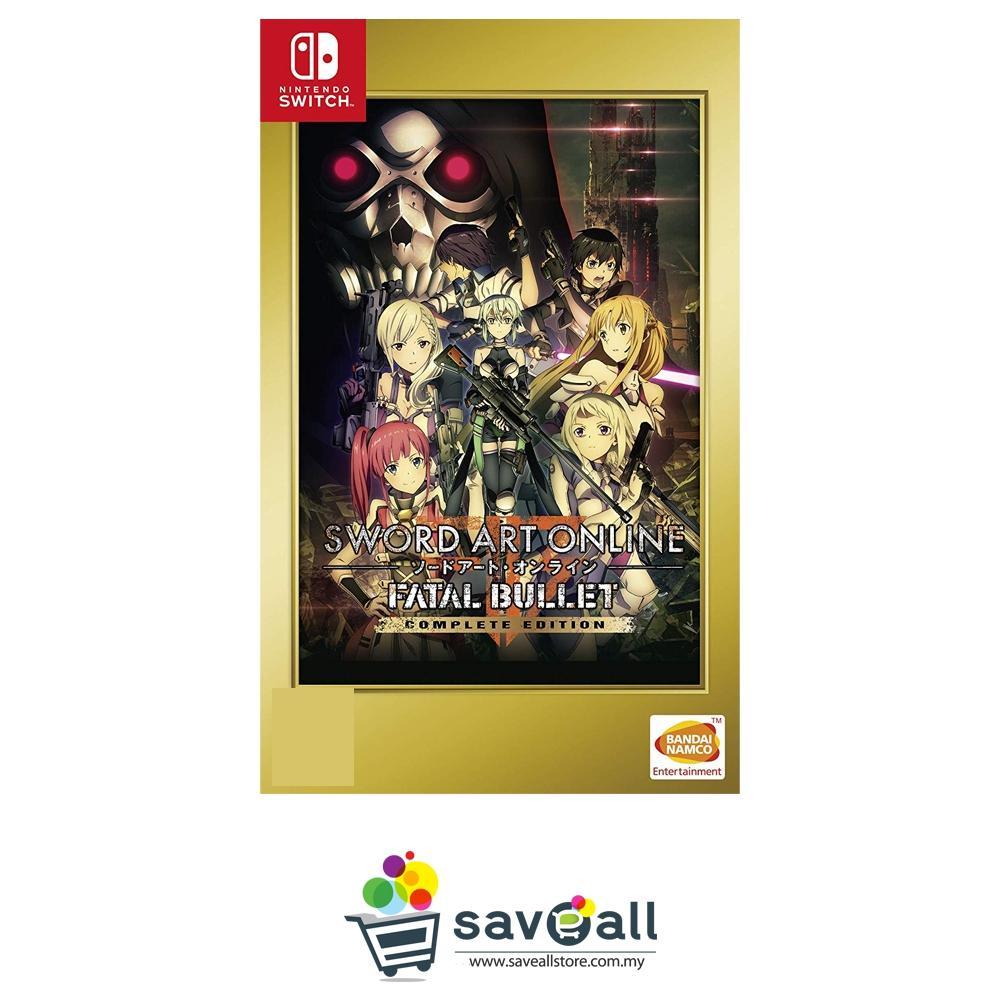 Sword Art Online Fatal Bullet Complete Edition (AS) - Nintendo Switch