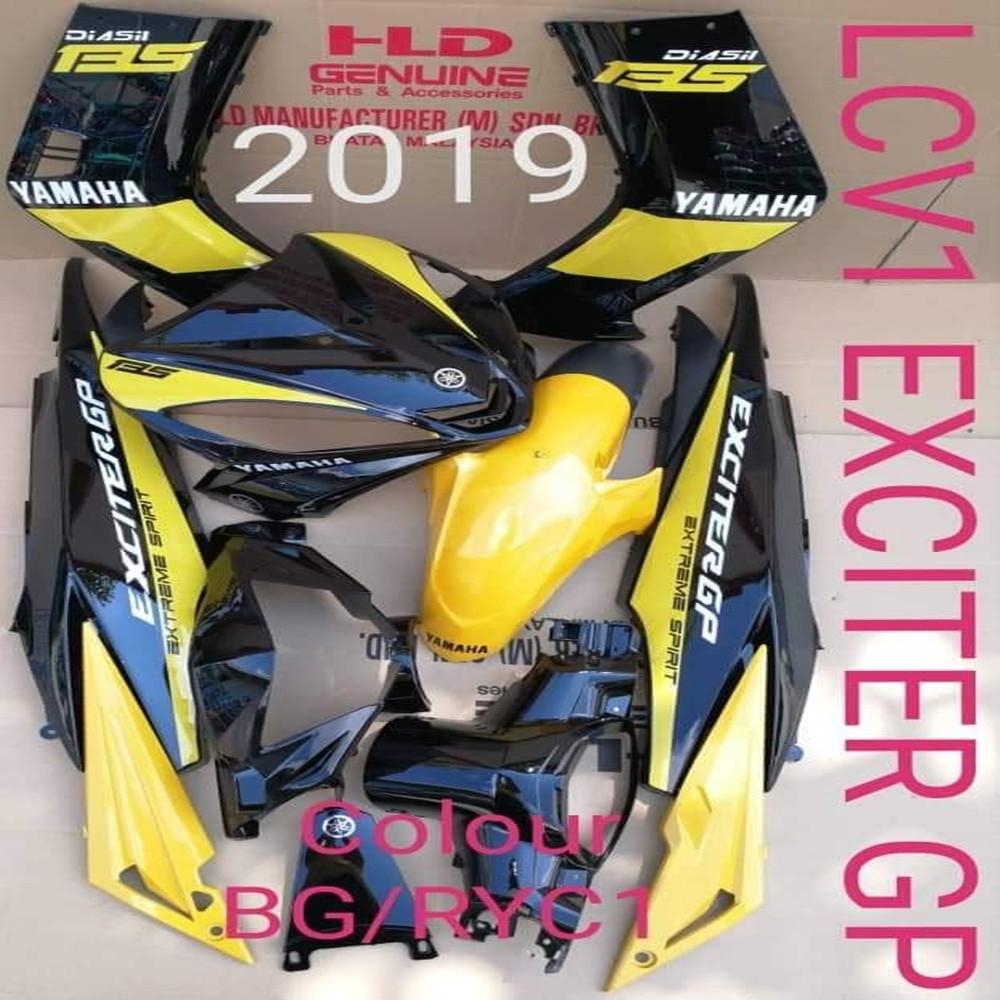 YAMAHA LC135 EXCITER GP 2019 COVER SET HLD