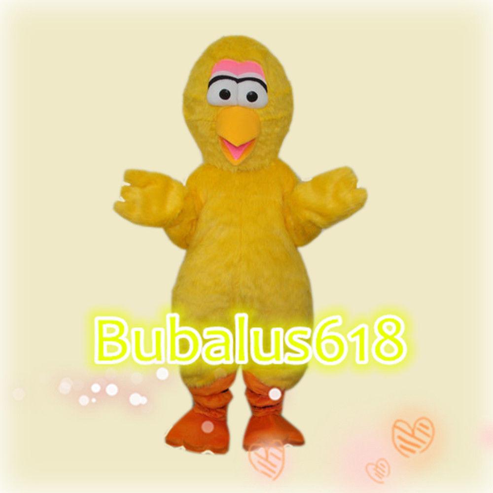 Yellow Turkey adult Cartoon/mascot costume for Festival/Chris[wbr/]tmas Fancy dress 122769438183
