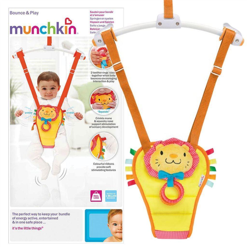 Munchkin Baby Toddler Adjustable Padded Door Bouncer