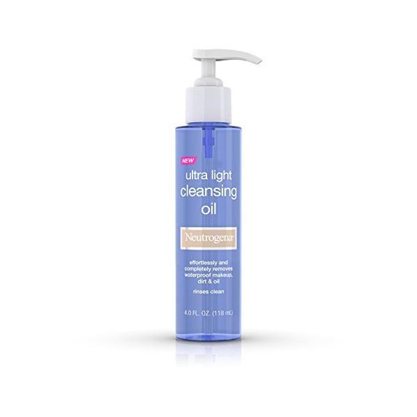 Neutrogena Ultra Light Cleansing Oil 4 Fluid Ounce Pack of 12