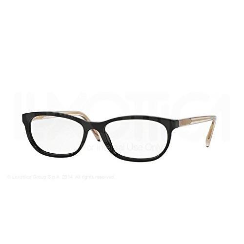 Eyewear Frames Burberry Eyeglasses BE2180 3507 Black 54 16 140 Women Fashion Accessories